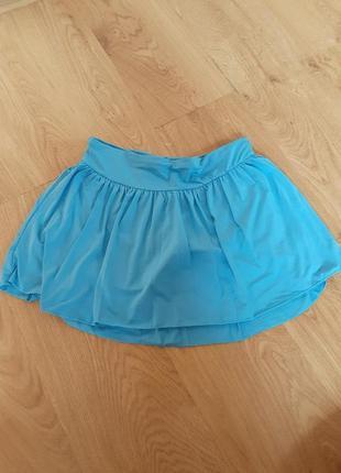 Новая юбка с шортами спортивная