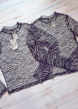Прозрачная блуза jennyfer