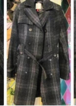 Осеннее пальто orsay очень теплое s размер