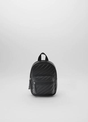 Стильный стёганный рюкзак zara