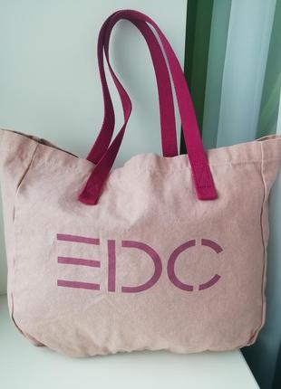 Німецька фірмова сумка шоппер esprit!!! оригінал!!