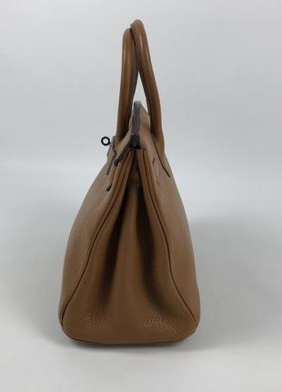 Оригинальная кожаная сумка hermès paris togo birkin клатч портфель ранец2 фото
