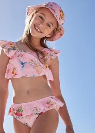 Купальник бикини с цветочным рисунком next(3-16 лет)