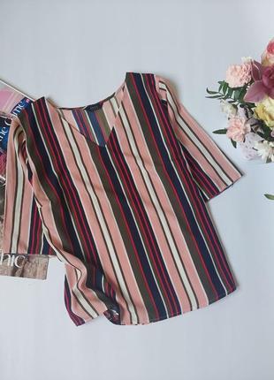 Блузка,стильна блуза,топ в полоску