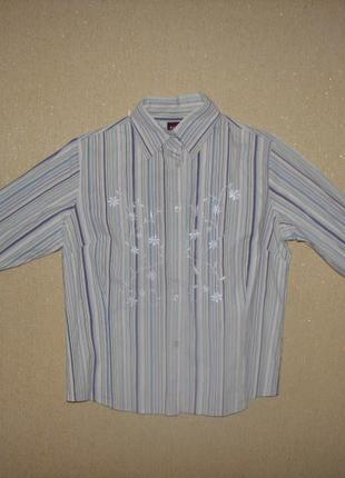Стильная рубашка для модной девушки