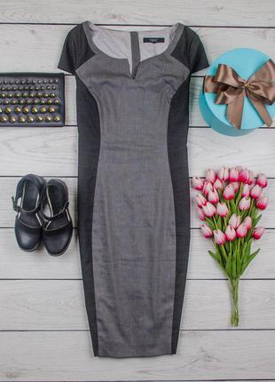 Платье футляр серое от next размер uk 14 наш р. 48