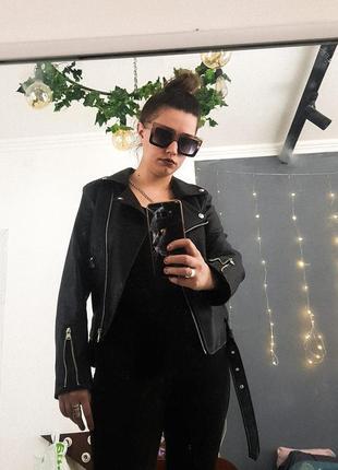 Куртка косуха черная классика в идеале