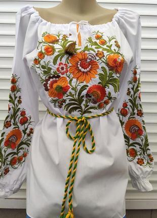 Вишиванка женская, блузка