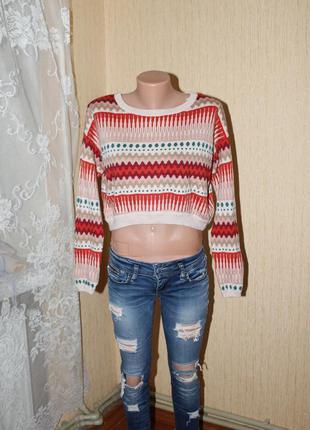 Укороченный свитер divided