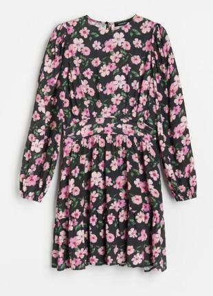 Платье с цветами reserved
