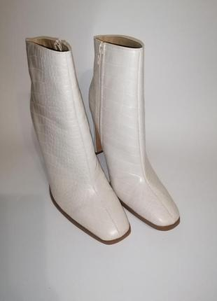 Ботинки белые missguided