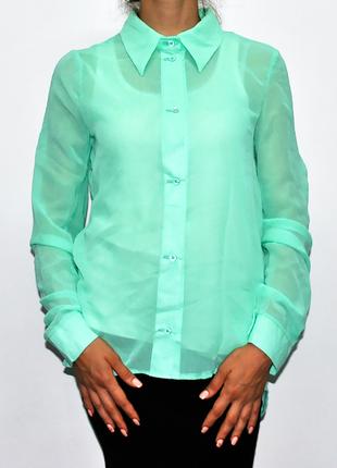 Женская шифоновая блуза.