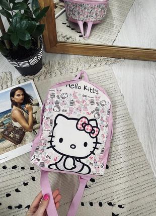 Дитячий рюкзак hello kitty🌿