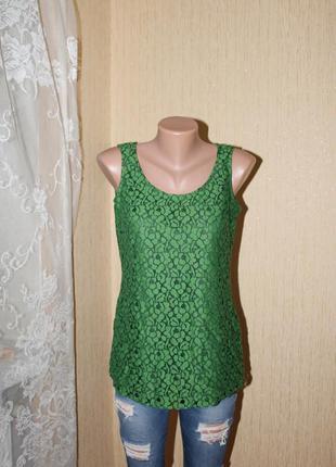 Гипюровый топ-блуза esprit