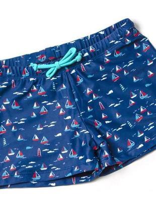 Детские плавки шорты для мальчика