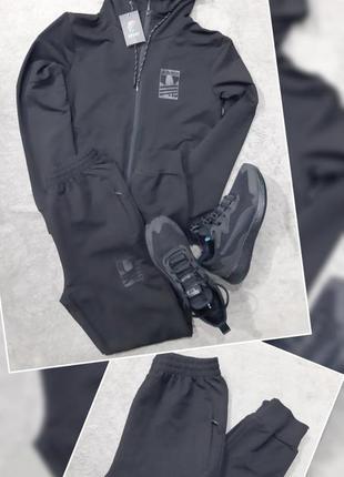 Спортивный костюм adidas черный 9059