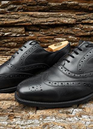 Броги catesby 43 размер туфли оксфорды мужские натуральная кожа