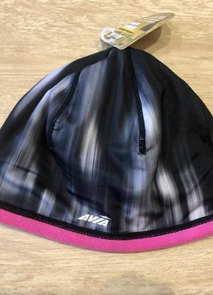 Спортивная термо шапка для бега и вело под шлем