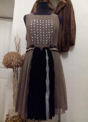 Платье, натуральный шелк.