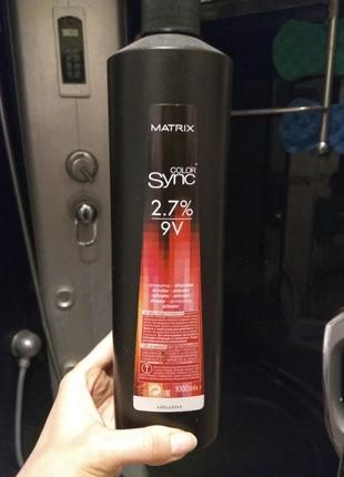 Окисник matrix color sync 2.7%