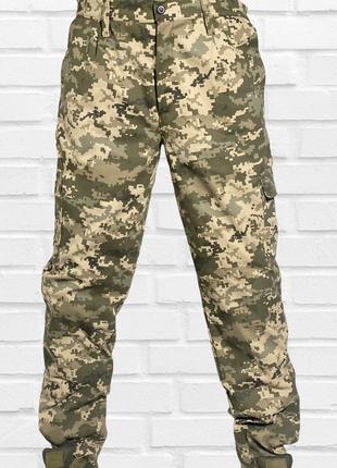 Брюки пиксель всу на резинке брюки камуфляж