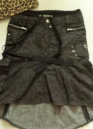 Классная юбка с наваротами