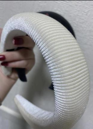 Объёмный обруч  для волос