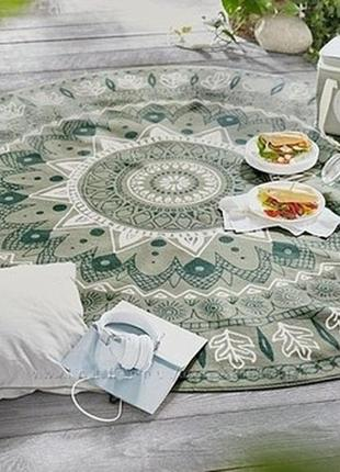 Круглый, суперовый коврик для пикника от tcm tchibo, германия
