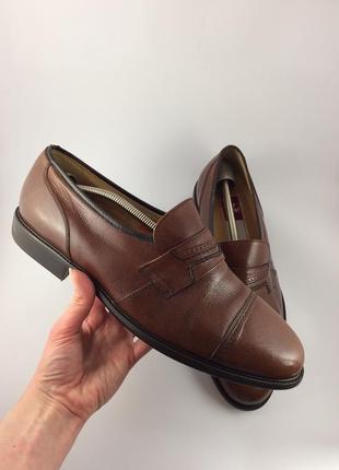 Gallus fashion кожаные туфли