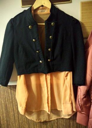 Короткая курточка, укороченная куртка, болеро