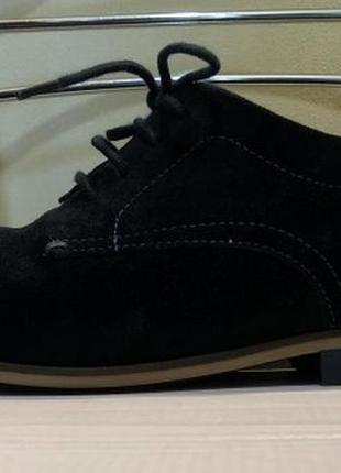 Демисезонные туфли - натуральная замша, tommy hilfiger, размер 42/26,5 см.