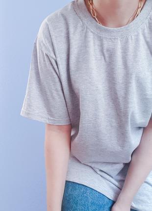 Оверсайз  футболка прямого пошиву