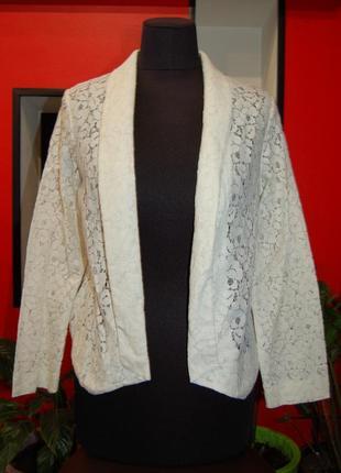 Next! ажурный пиджак, накидка