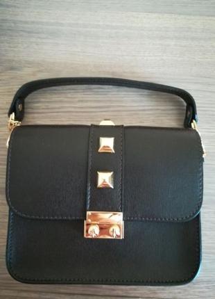 Нова сумочка клатч сумка шкіра кожа