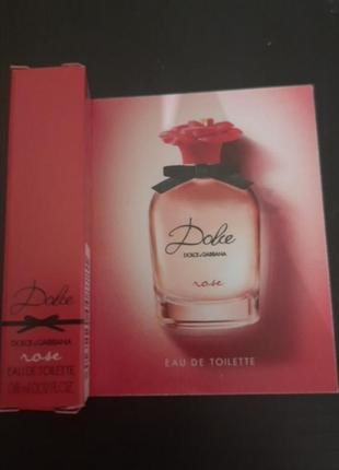 Пробник dolce rose