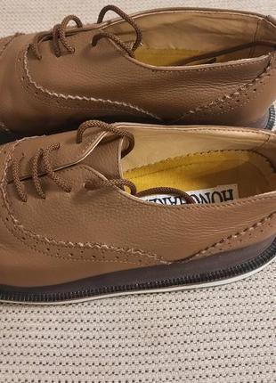 Стильные туфли на высокой подошве
