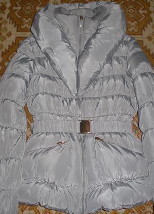 Курточка пуховик зимняя s
