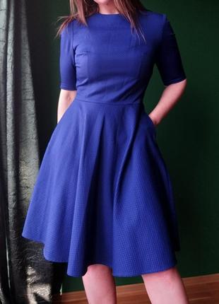 Синя сукня must have
