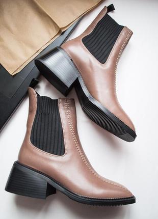 Ботинки весенние, модные ботинки