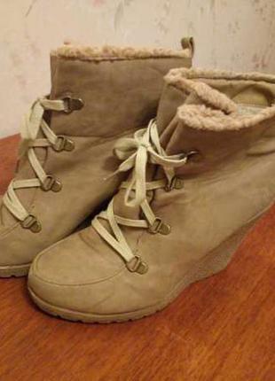 Ботинки сапожки сапоги обувь осень женские