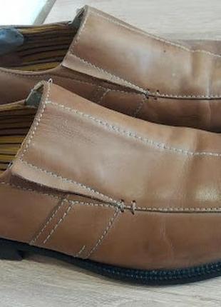 Туфли vero cuoio 44.5р кожа италия.