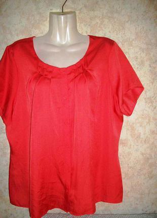 Блуза\блузка коралового цвета