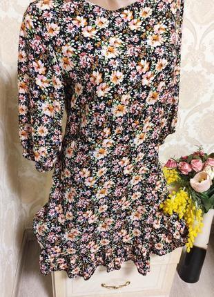 Стильное и красивое наиуральное платье,100%вискоза