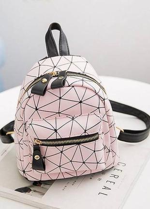 Рюкзак розовый маленький