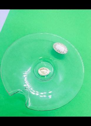 Murano venezia мурано блюдце лейбл из серебро 925 пробы вазочка для конфет