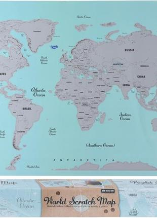 Скретч-карта «world» 88x52 см (imp_63_karta)2 фото