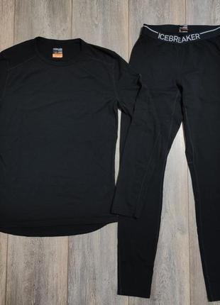 Мужской термо комплект icebreaker merino wool размер s-м