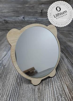 Зеркало настольное для макияжа и не только ) -  котик №1