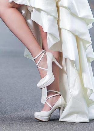 Красивенные свадебные туфельки