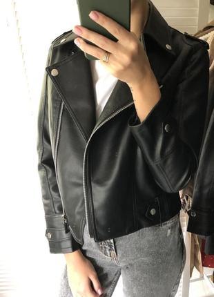 Кожаная куртка кож зам косуха
